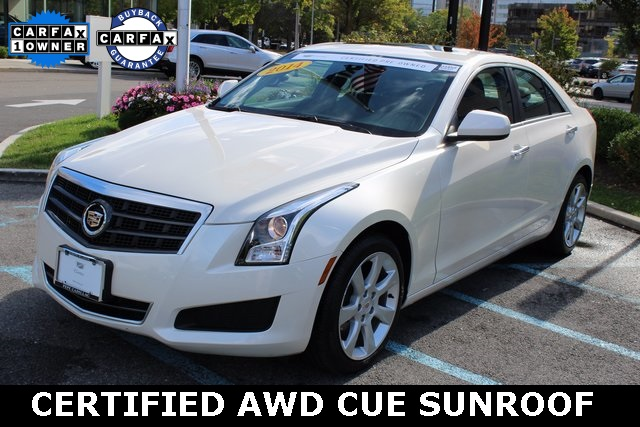 Certified Pre-Owned 2014 Cadillac ATS 2.0L Turbo