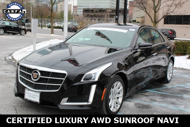 Certified Pre-Owned 2014 Cadillac CTS 2.0L Turbo Luxury