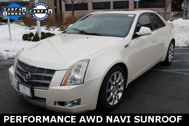 Pre-Owned 2009 Cadillac CTS Performance Awd