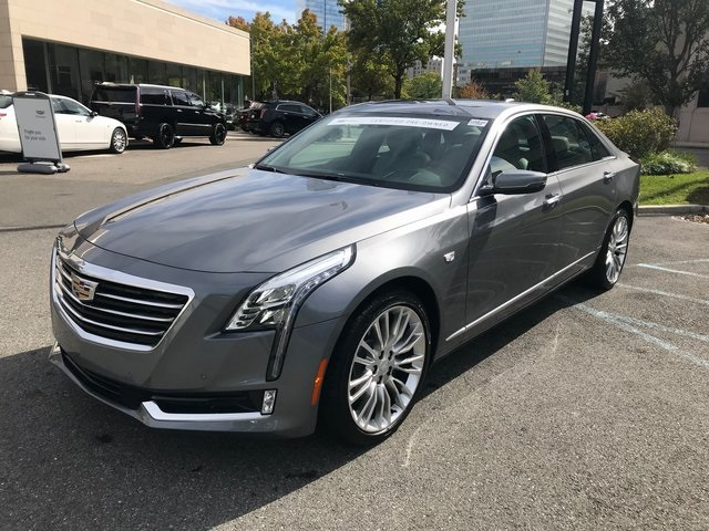 Certified Pre Owned 2018 Cadillac Ct6 3 6l Premium Luxury 4d Sedan