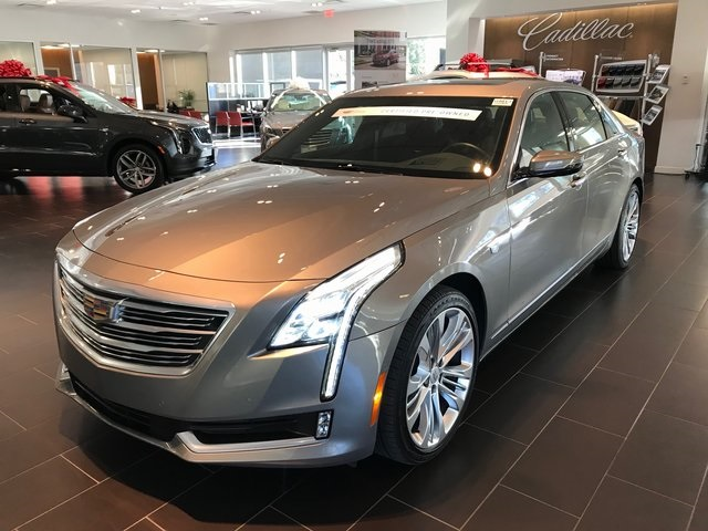 Certified Pre-Owned 2018 Cadillac CT6 3.6L Platinum