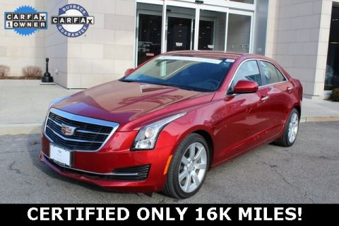 Certified Pre-Owned 2015 Cadillac ATS 2.5L RWD 4D Sedan