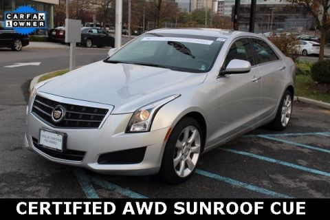 Certified Pre-Owned 2014 Cadillac ATS 2.0L Turbo AWD