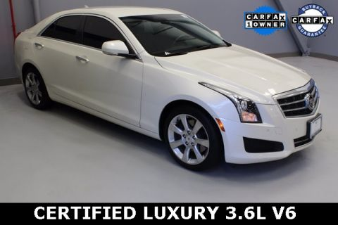 Certified Pre-Owned 2014 Cadillac ATS 3.6L Luxury AWD