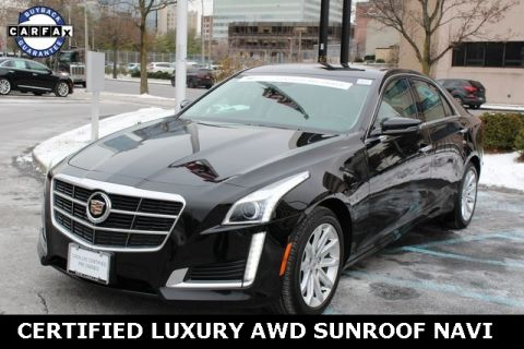 Certified Pre-Owned 2014 Cadillac CTS 2.0L Turbo Luxury AWD
