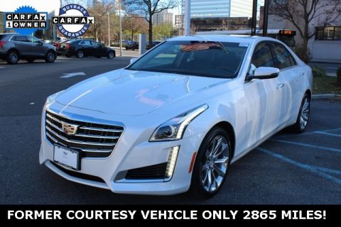 Pre-Owned 2017 Cadillac CTS 2.0L Turbo Luxury AWD