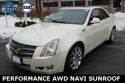 Pre-Owned 2009 Cadillac CTS Performance Awd AWD