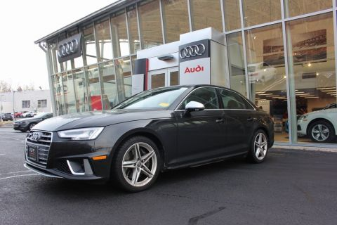 Certified Pre-Owned 2019 Audi S4 3.0T Premium