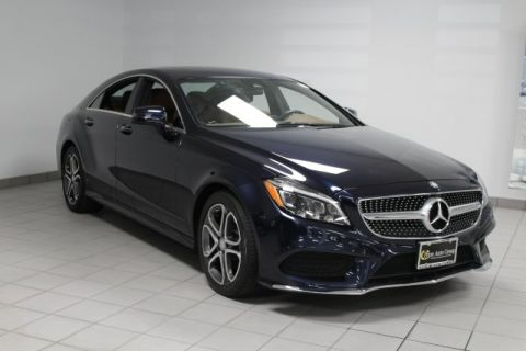 Certified Pre-Owned 2015 Mercedes-Benz CLS CLS 400 4MATIC Coupe