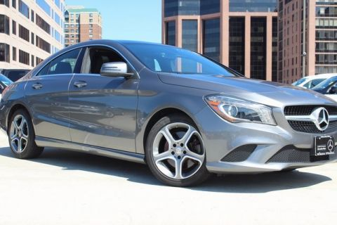 Certified Pre-Owned 2014 Mercedes-Benz CLA CLA 250 4MATIC Coupe