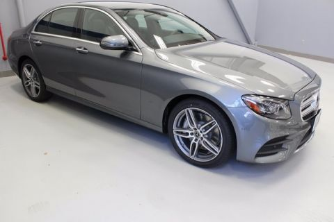 New 2018 Mercedes-Benz E-Class E 300 4MATIC 4D Sedan