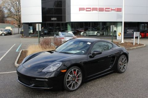 Certified Pre-Owned 2017 Porsche 718 Cayman S RWD 2D Coupe
