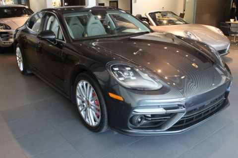 Certified Pre-Owned 2017 Porsche Panamera Turbo AWD
